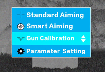 Automatic gun calibration